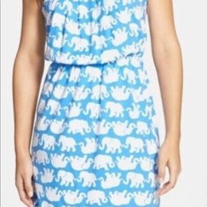 🌴LILLY PULITZER 'Windsor' Strapless Dress